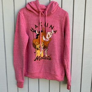 Disney Hakuna Matata Peach Hoodie